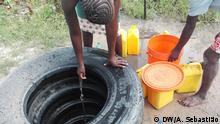 Mosambik Brunnen in Beira