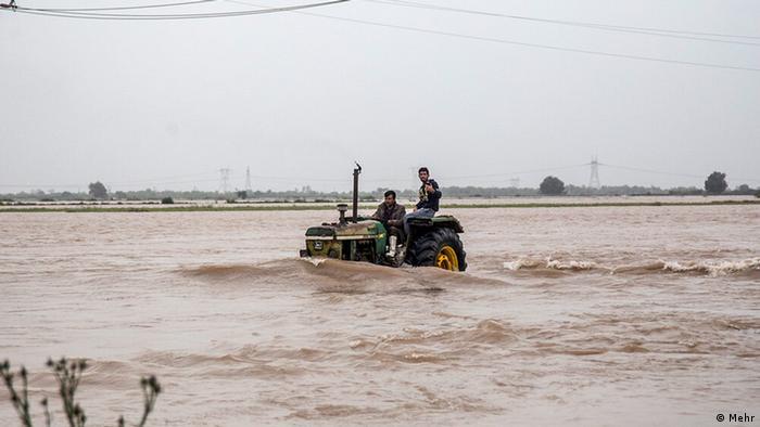 Überschwemmung in Khuzestan, Iran (Mehr)