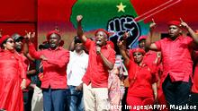 Südafrika EFF Wahlkampfauftakt 2019 Julius Malema