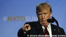 Donald Trump NATO Conference