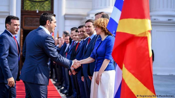 Алексіс Ципрас відвідує Північну Македонію