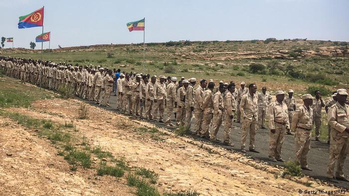 Eritrea Soldaten