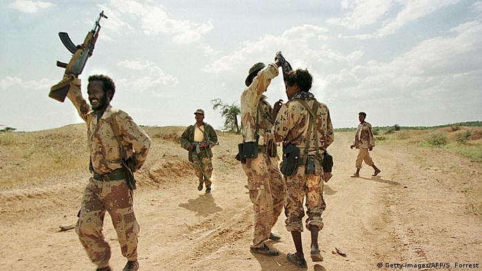 Eritrea Soldaten (Getty Images/AFP/S. Forrest)