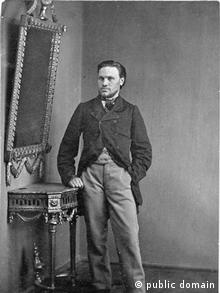 Кастусь Калиновский, архивное фото 1862 года