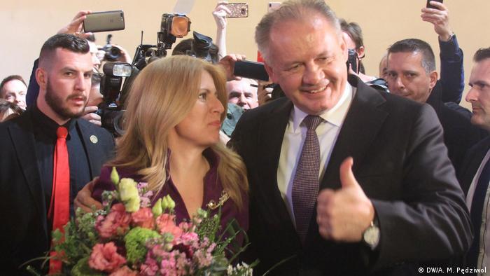 Zuzanna Czaputova i Andrej Kiska