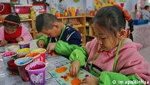 (160420) -- SHIJIAZHUANG, April 20, 2016 -- Children use recycled paper to make handicrafts at Binhe Kindergarden in Zhangjiakou City, north China s Hebei Province, April 20, 2016. A course was set up in the kindergarden to teach kids using waste paper to make recycled paper, in order to raise children s awareness of environmental protection. ) (whj) CHINA-HEBEI-CHILDREN-RECYCLED PAPER (CN) yangxshiyao PUBLICATIONxNOTxINxCHN 160420 Shijiazhuang April 20 2016 Children Use Recycled Paper to Make Handicrafts AT Binh kinder garden in Zhangjiakou City North China S Hebei Province April 20 2016 a Course what Set up in The kinder garden to Teach Kids Using Waste Paper to Make Recycled Paper in Order to Raise Children S Awareness of Environmental Protection WHJ China Hebei Children Recycled Paper CN YangxShiyao PUBLICATIONxNOTxINxCHN