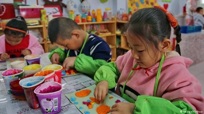 China Hebei Provinz Kindergarten (Imago/Xinhua)