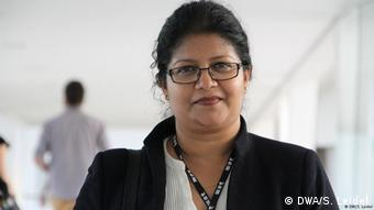 Picture of Helani Galpaya, she is the CEO of LIRNEasia, a think tank working across Asia-Pacific. (DWA/S. Leidel).