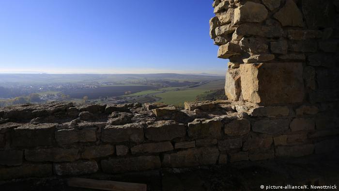 Вид на окрестности из замка Глейхен