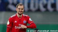 Fußball DFB Pokal SC Paderborn vs. Hamburger SV
