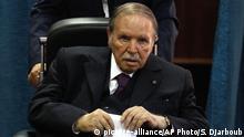 Algerien Präsident Abdelaziz Bouteflika