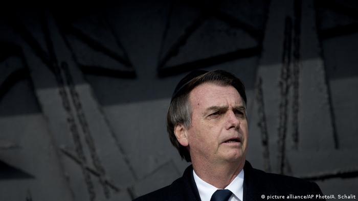 Jair Bolsonaro (picture alliance/AP Photo/A. Schalit)