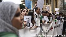 Demonstration gegen die Regierung in Algier