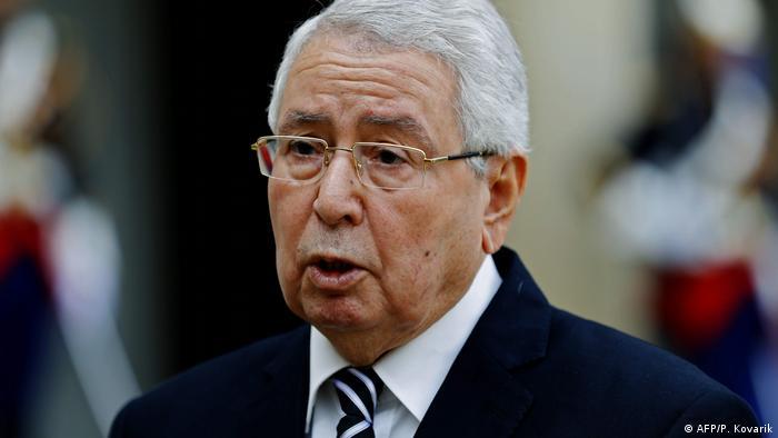 Abdelkader Bensalah (AFP/P. Kovarik)