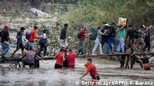 Venezuela Flüchtlinge an der Grenze zu Kolumbien bei Cucuta
