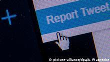 Symbolbild Twitter - Tweet melden