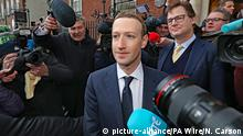 Irland Dublin Mark Zuckerberg