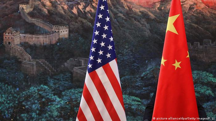 Handelsstreit zwischen USA und China (picture-alliance/dpa/Getty Images/F. Li)