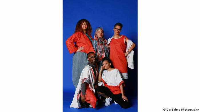 Naomi Afia's collection 'Our Bodies, Our Business' - exhibition Contemporary Muslim Fashions in Frankfurt/M.
