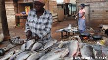 Käfigfischen in Uganda