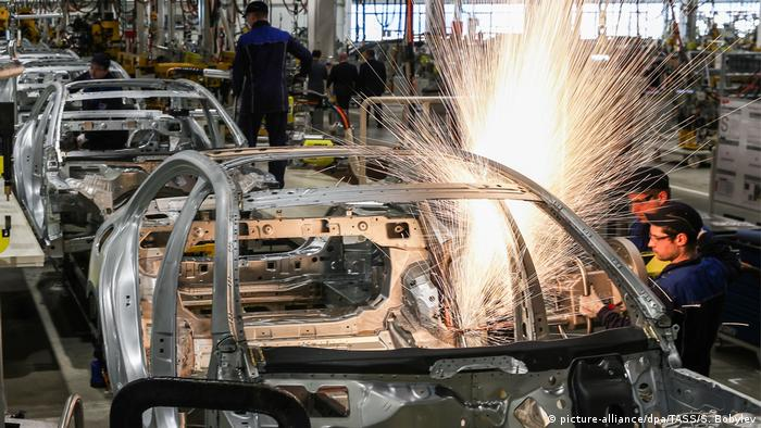 Car plant in Russia