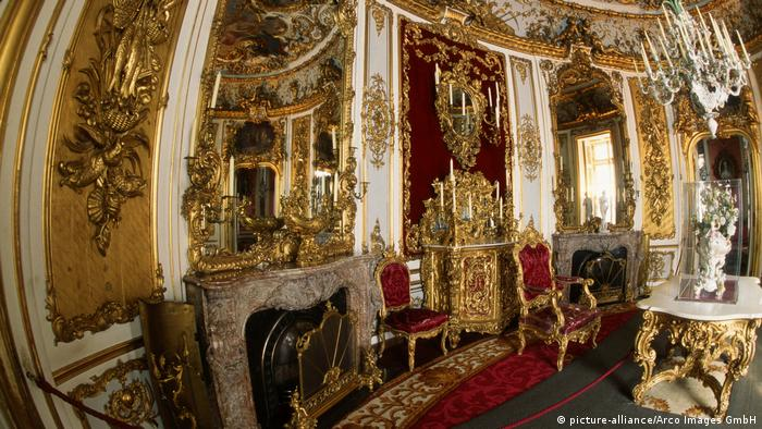 Dining room of Linderhof palace (picture-alliance/Arco Images GmbH)