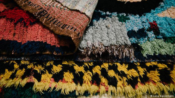 close up of colorful carpets (Foto: Lena Ganssmann)