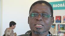 Foto 2: Ungulani Khosa Datum: 03.04.2019 Autor der Bilder: João Carlos, DW-Korrespondent Stichwort: mosambikanische Schriftsteller