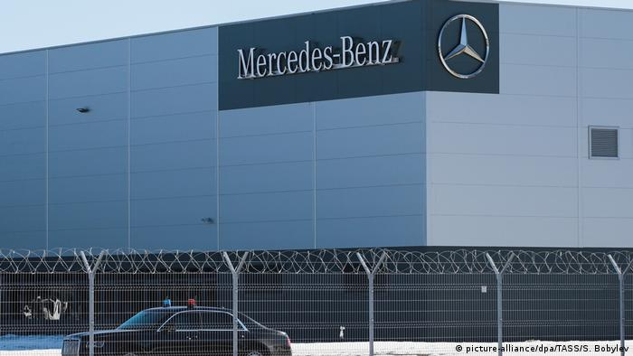 aa2869294b Mercedes-Benz Moscovia car plant opened by Altmaier and Putin in ...