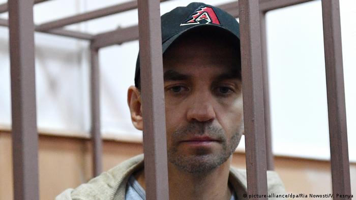 Михаил Абызов в суде, 27 марта 2019 года