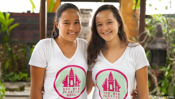 Bali Organisation Bye bye plastic bags Gründerinnen Isabel & Melati Wijsen