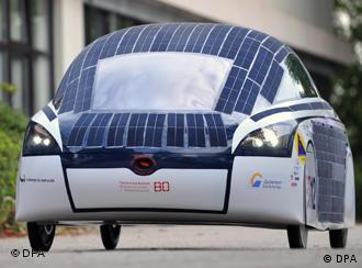 Four-wheel BOcruiser covered with solar panels