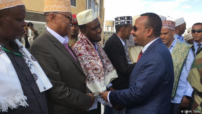 Äthiopien Somali-Region-Partei & gegenerische Parteien in Jigjiga   Abiy Ahmed, Premierminister