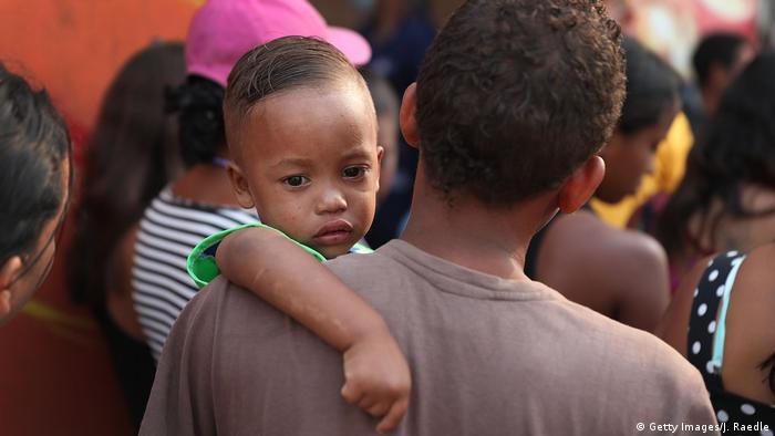 Kolumbien Venezolanische Flüchtlingskinder in Cucuta