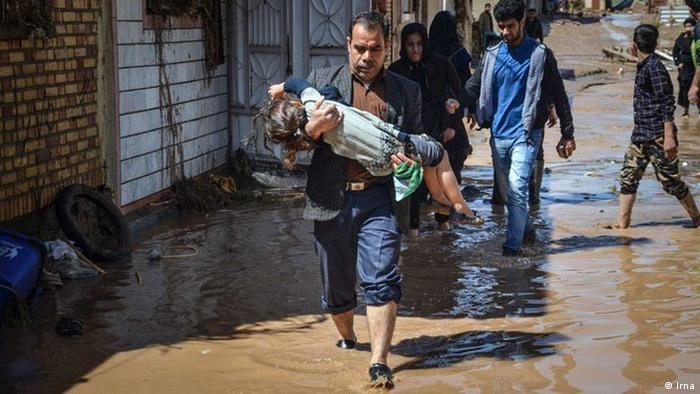 Iran Überschwemmung (Irna)