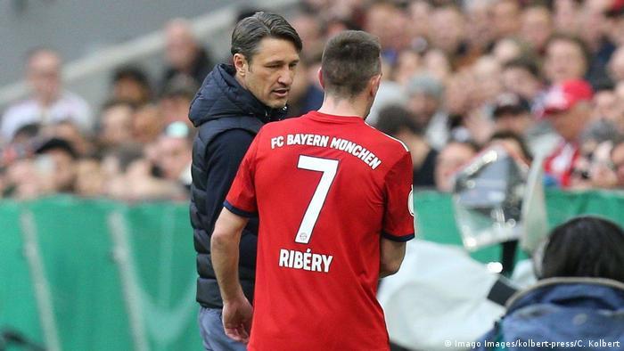 Schwieriger Spagat: Trainer Niko Kovac (l.) und Franck Ribery
