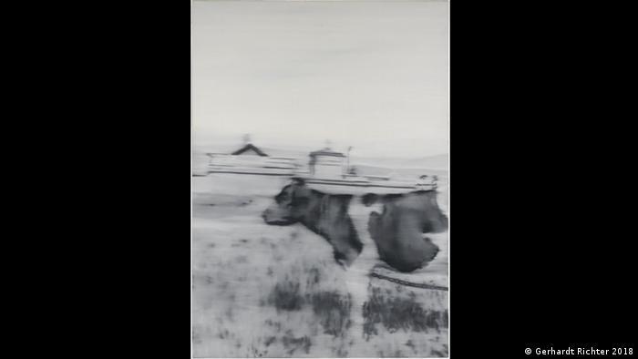 Gerhard Richters Kunstwerk Kuh II (Gerhardt Richter 2018)