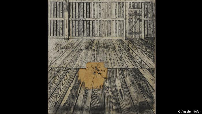 Anselm Kiefers piece Glaube, Hoffnung, Liebe (Belief, Hope, Love) (Anselm Kiefer)
