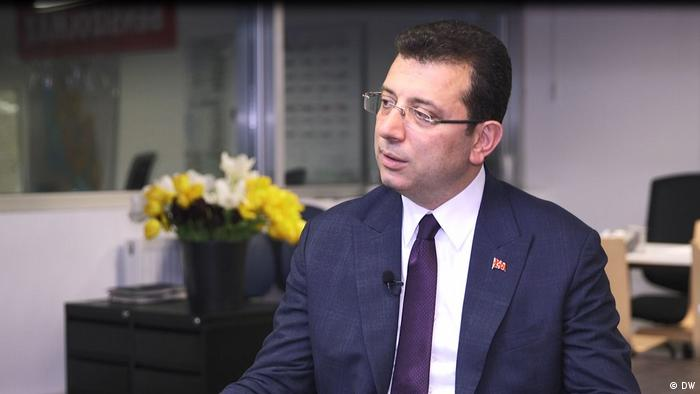 اکرم اماماوغلو، نامزد حزب جمهوریخواه خلق در استانبول