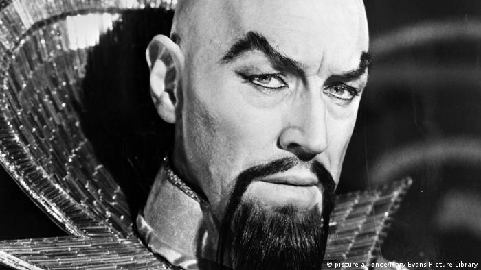 Max von Sydow as Ming in Flash Gordon (1980) (picture-alliance/Mary Evans Picture Library)