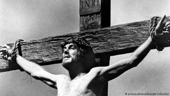 Max von Sydow as Jesus in The Greatest Story ever told (picture-alliance/Everett Collection)