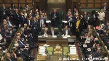 London: Unterhaus stimmt über die Verschiebung des Brexit ab