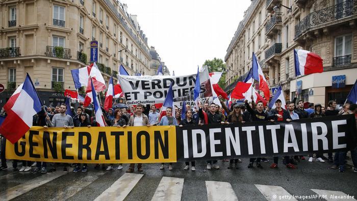 Symbolfoto: Generation Identitaire, Frankreich