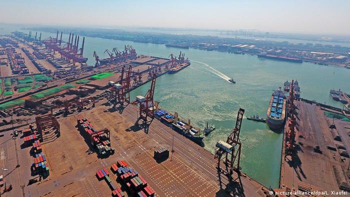 Trade Talks zwischen USA und China (picture-alliance/dpa/L. Xiaofei)