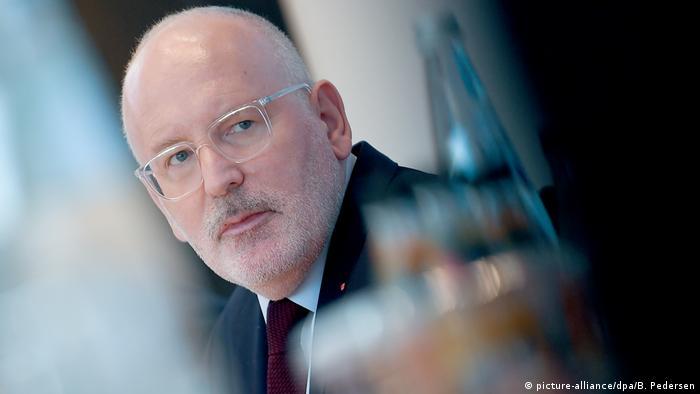 Frans Timmermans (SPD), Spitzenkandidat der europäischen Sozialdemokratie