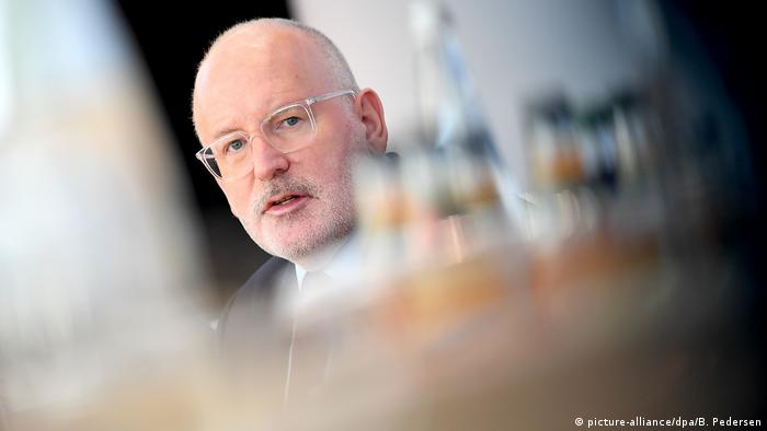 Frans Timmermans (picture-alliance/dpa/B. Pedersen)