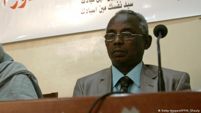 Sudan Journalist Osman Mirghani (Ausschnitt) (Getty Images/AFP/A. Shazly)