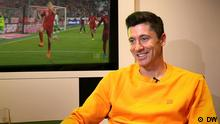 Robert Lewandowski Interview