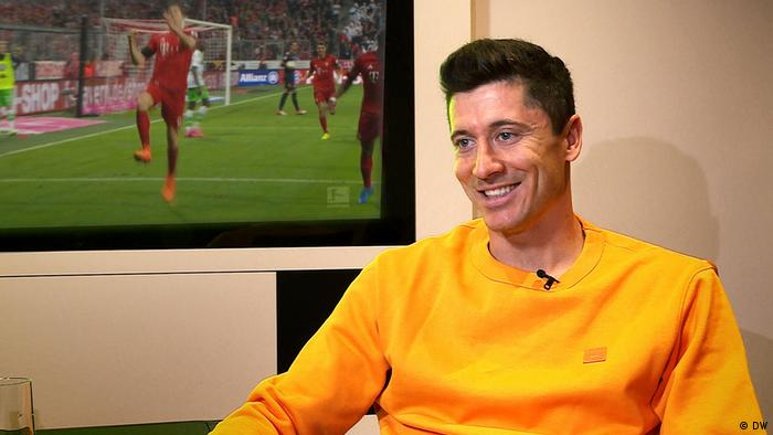 Robert Lewandowski Interview (DW)