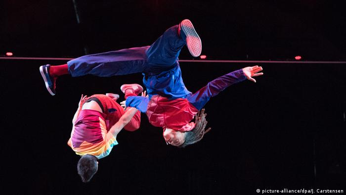 Berlin Premiere Flying Pictures Tanzshow (picture-alliance/dpa/J. Carstensen)
